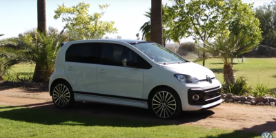 La Volkswagen Up GTI se devoile !