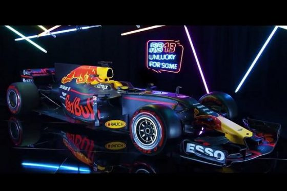 Formule 1 2017 Red Bull RB13
