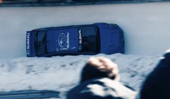 Du bobsleigh en Subaru ? c'est possible !