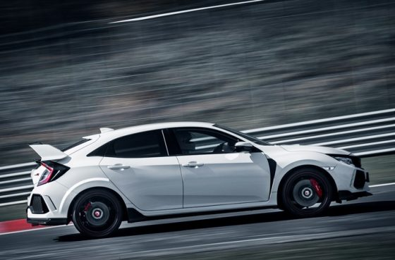 Honda Civic Type R 2017 record Nurburgring