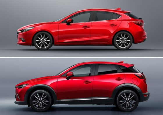 les mazda3 et cx 3 s enrichissent de la finition signature auto. Black Bedroom Furniture Sets. Home Design Ideas