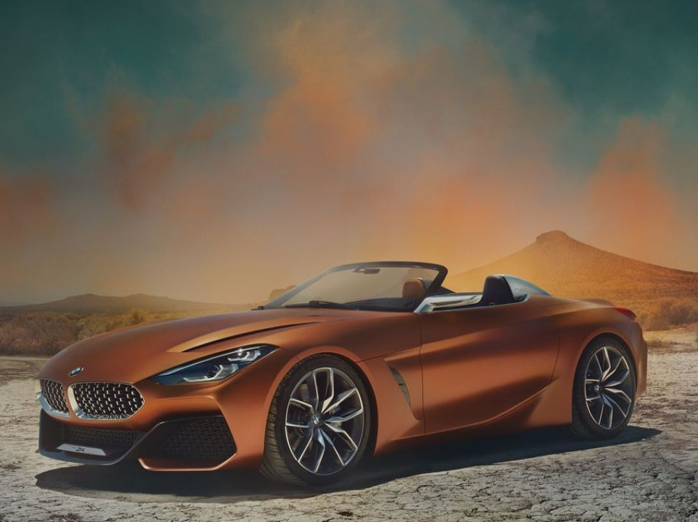 bmw concept z4 pr sent peeble beach auto. Black Bedroom Furniture Sets. Home Design Ideas