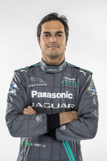 Nelson Piquet team Jaguar Panasonic