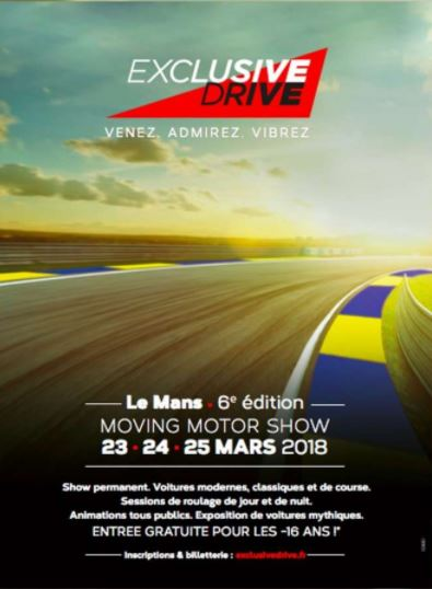 Exclusive Drive 2018