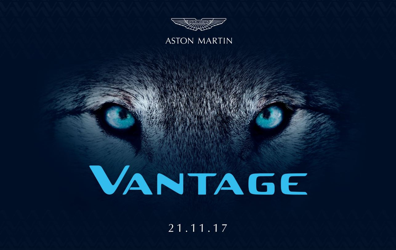 la nouvelle aston martin vantage sera pr sent e le 21 novembre auto lifestyle. Black Bedroom Furniture Sets. Home Design Ideas