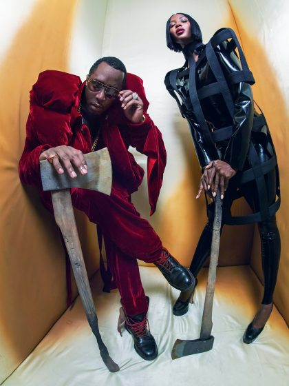 PIRELLI THE CAL 2018 NAOMI CAMPBELL AND SEAN DIDDY COMBS