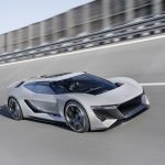 Pebble Beach : Audi PB18 e-tron concept