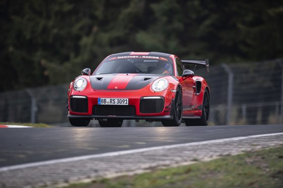 Record du Nurburgring Porsche GT2 RS MR