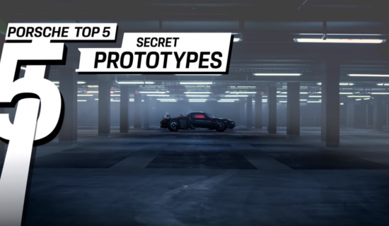 Le top 5 des prototypes les plus secrets de Porsche